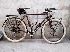 """""""""""He's called Bernard. The only bike I've ever named."""" - Wesley #longhaultrucker"""""""