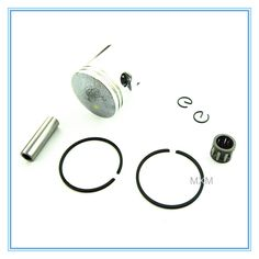 2-stroke 1E40-6 47cc air-cooling engine 40mm Piston Kit with crankshaft bearing, pins and piston rings/factory wholesale price