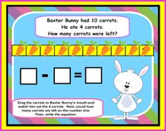 Smart Board Spring Math FUN:  Kinder and First