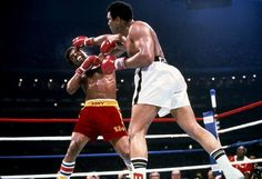 Leon Spinks took center stage over Ali at the press conference after their fight. The victorious Spi... - Neil Leifer for Sports Illustrated