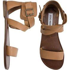 cute brown sandals--