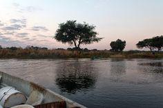 Why not?: Sunrise above Zambezi River