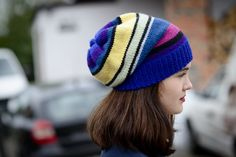 Chunky multicolor beanie/elegant by Isabellwoolstudio on Etsy