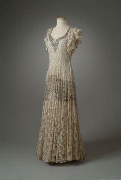 1945 Evening Dress