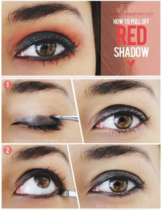 This Fall, dare to step out of your comfort zone with this incredibly dramatic eye! Click on the picture for all the steps!