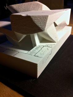 PLUS-SUM Studio in Lexington, Kentucky | MICROclimates (Mendoza Arts District - M.A.D.) | Process 3D Print Models | www.plus-sum.com