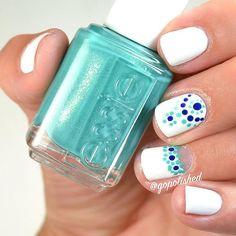 Another simple #dotticure because I can't get enough! I used the #perfectpairing of @essiepolish #vivaantigua (one of my favorite summer picks for 2016) and #lootthebooty over #blanc. ------------------------------------------------ #Essie #essielove #essielootthebooty #essievivaantigua #essiesummer2016 #notd #nails #nailswag #nailpolish #nailpolishaddict #instanails #instabeauty #nailart #mani #nailartdesign #nailstagram #instanails #nailblogger #nailsdid #nails2inspire #nailswag…