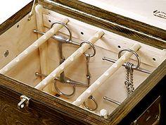 Bit Box.... repinned with thanks by DressageWaikato.co.nz...