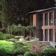 visualization of luxury villa exterior. 3d Visualization, 3d Artist, Luxury Villa, Exterior, Plants, Luxury Condo, Plant, Outdoor Rooms, Planets