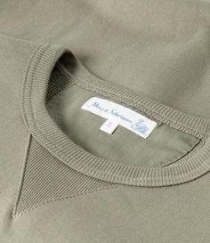 3S48 crew-neck sweatshirt heavyarmy