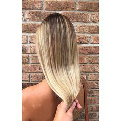 "145 Likes, 3 Comments - Blake Webster (@blakebellavi) on Instagram: ""Butter blonde babe☀️ ______________________________ #balayage #olaplex #summerblonde #blondegoals…"""