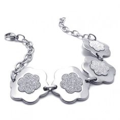 8.3 inch Titanium Bracelet for Women 20739