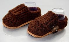 Manda Nicole's Crochet Patterns: Little Boy Loafers - 3-6 Months - Free limited time only