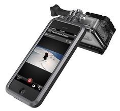Proview GoPro Cell Phone Mount - This GoPro mount for your smartphone quickly converts it from a phone into a camera grip that also works as your LCD screen, allowing for easy, one-handed operation while filming.