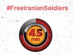 #FreeIranianSoldiers تا تجمع در مقابل سفارت پاکستان کمتر از 45 دقیقه در روزی بدون ترافیک زمان باقیست.
