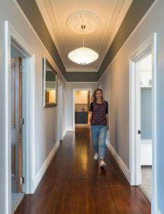 DIY project returns Christchurch villa its former glory Renovation Budget, Bungalow Renovation, Bungalow Interiors, Cosy House, Inside Home, Home Reno, Bedroom Colors, Door Design, My Dream Home