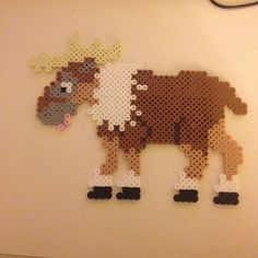 Sven Frozen hama beads by maries_perlerart