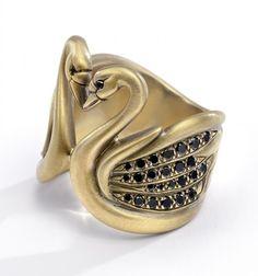 Black Swan ring. Love it!