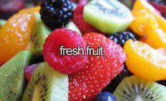 fresh fruit is the best fruit!¡