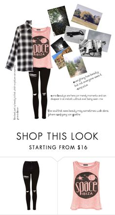 """""""Some Beautiful Things"""" by inspirationstrikes ❤ liked on Polyvore featuring Topshop, New Look and RVCA"""