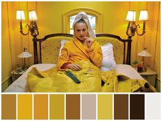 """""""The Darjeeling Limited"""" (2007)  •Directed by Wes Anderson  •Cinematography: Robert D. Yeoman  •Production Design: Mark Friedberg"""