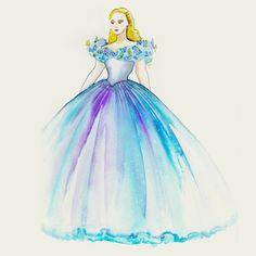 完成まで一万時間!?映画「実写版シンデレラ」の美しすぎる衣装メイキング♡にて紹介している画像