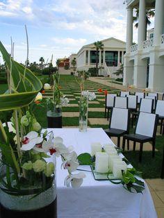 mesa para la ceremonia