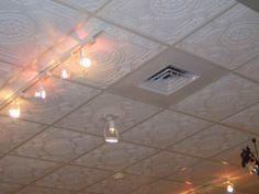 The Advantages Using Plastic Ceiling Tiles: Lighting Plastic Ceiling Tiles That Look Like Tin ~ gamesbadge.com Floor Inspiration