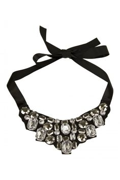 Fabric Glam Necklace