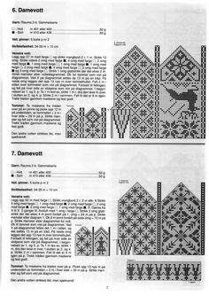 "Photo from album ""Selbustrikk on Yandex. Crochet Mittens Free Pattern, Knit Mittens, Knitted Gloves, Knitting Charts, Knitting Stitches, Knitting Patterns, Fair Isle Chart, Fair Isle Pattern, Fair Isles"