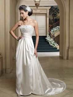 Wedding dresses and bridals gowns by David Tutera for Mon Cheri for every bride at an affordable price | Wedding Dresses|style #212255 - Renesmee