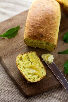 curry leaf bread. i've accepted the fact that i am a carbaholic - so they might as well be different and tasty.