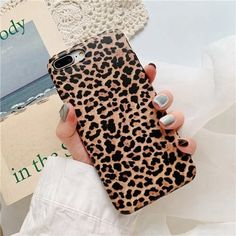 Leopard Print Phone Case Cover For Iphone 7 Case Luxury Soft Fashion S Iphone 8, Apple Iphone, Iphone Phone Cases, Iphone 7 Plus Cases, Samsung Cases, Iphone Case Covers, Samsung Galaxy, Iphone 7 Cases Luxury, Waterproof Iphone Case