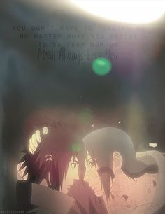 I will always love you- Itachi Uchiha