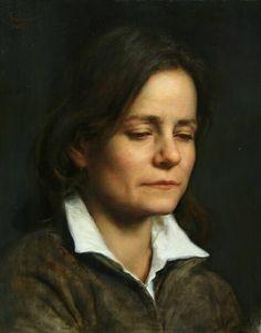 """Zia Orietta"" by Cesar Santos Cesar Santos, Potrait Painting, Classical Realism, Hyper Realistic Paintings, Cuban Art, Oil Portrait, American Artists, Painting Inspiration, Female Art"