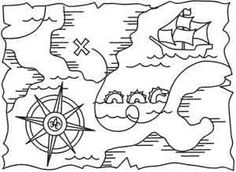 Pirate Treasure Map_image
