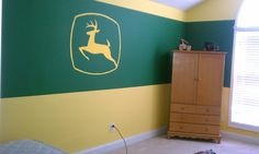 Cadens john deere room  ... Uploaded with Pinterest Android app. Get it here: http://bit.ly/w38r4m
