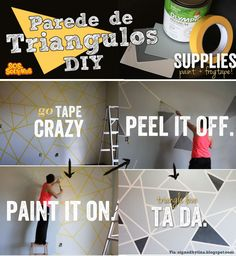 diy-parede-de-triangulos-com-fita-adesiva-durex