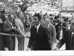 Dean Martin at Gary Cooper's funeral