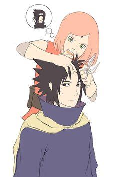 Sasuke y Sakura Naruto Kakashi, Anime Naruto, Hinata, Sasuke Sakura Sarada, Shikamaru, Naruhina, Anime Manga, Akatsuki, Naruto Family