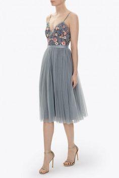 Vestidos de invitada para bodas de otoño: Needle&Thread