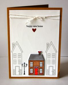 Holiday Home: New Home card