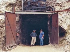 The opening portal to the spiral decline of the Vortex Mine