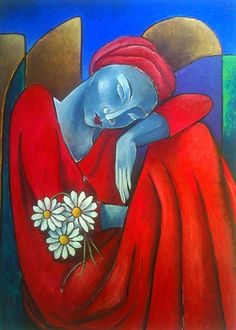 Por amor al arte: Rita Cavallari Art Pop, Art Painting Gallery, Art Gallery, Figure Painting, Painting & Drawing, Art Visage, Colorful Paintings, Angel Art, Art Plastique