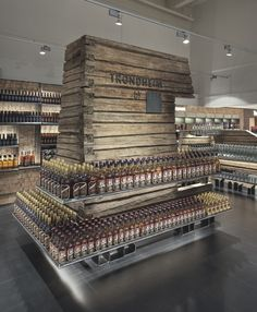 TRD Heinemann store by TYIN Tegnestue at Trondheim Airport, Stjordal Norway other stores