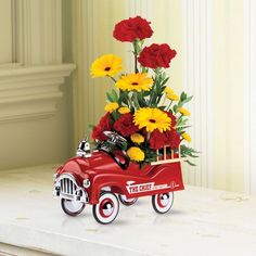 Teleflora's Fire Engine Bouquet
