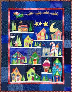 Welcome to the North Pole    Christmas quilts