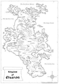 ArtStation - Map of Etearon, Karin Wittig                              …