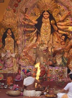 Durga Puja Celebration https://www.facebook.com/IndiaWithKrystal