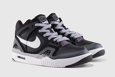 NIKE AIR TECH CHALLENGE 2 GS BLACK/GREY